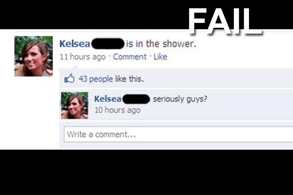 Epic Facebook FAILS