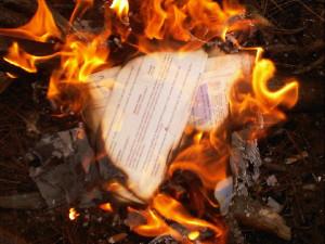 mailburning