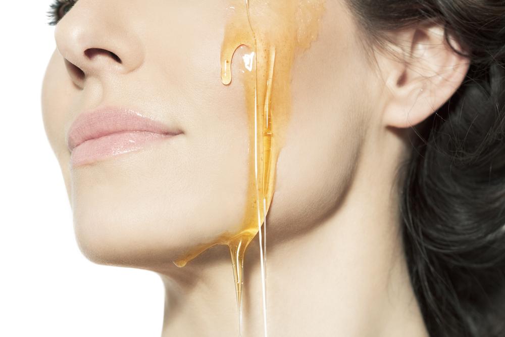 Картинка мед на лице