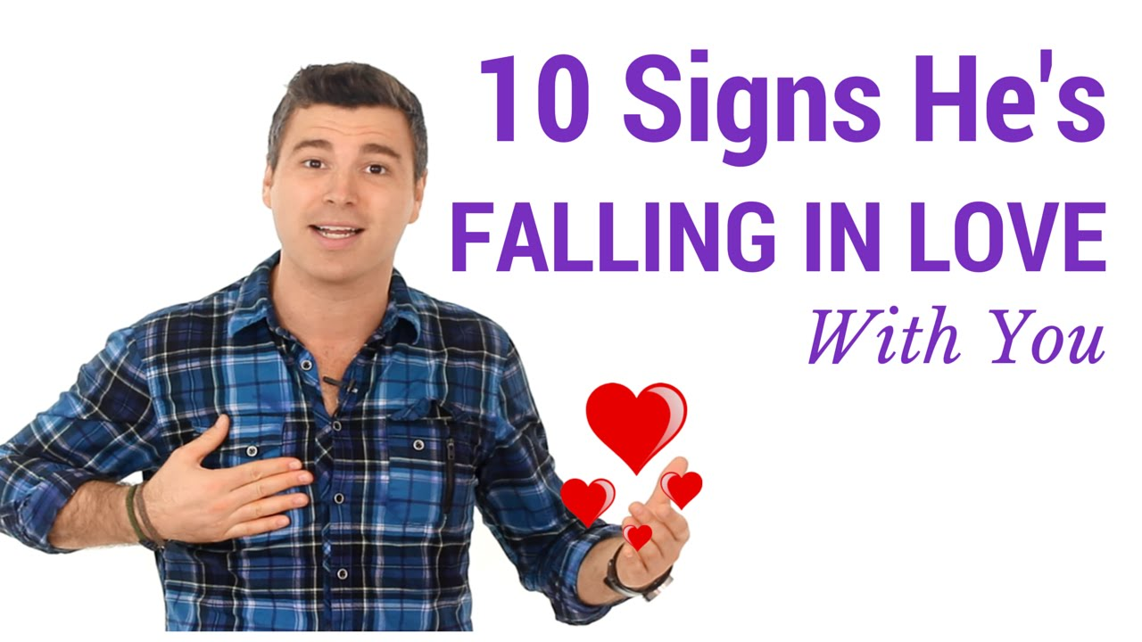 Signs your hookup is falling for me
