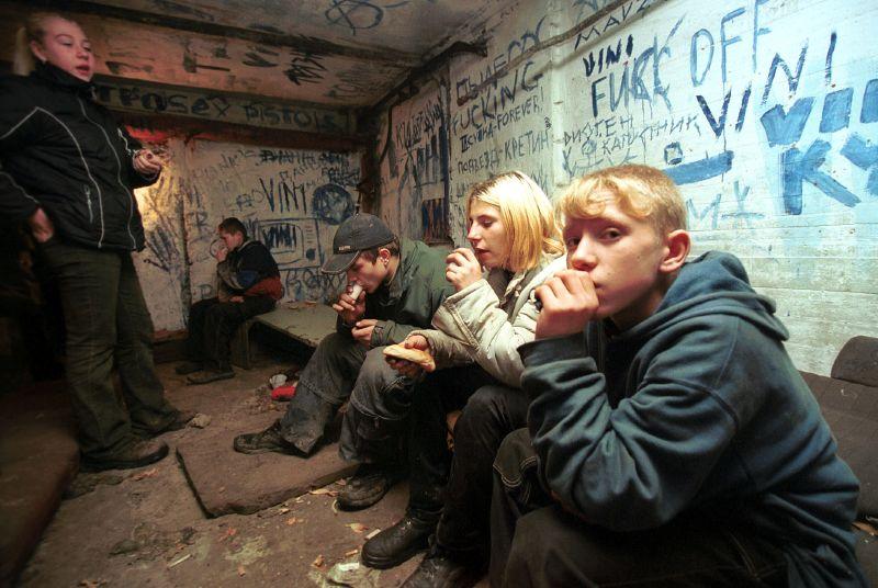 Teen drug addicts