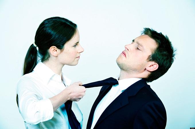 AHPDMC Woman bullying a man in an office
